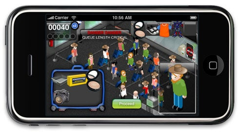 Take Airport Security Game Through Airport Security