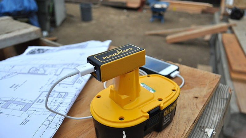 Charge Your Phone From Your Power Tools With This Handy Adapter