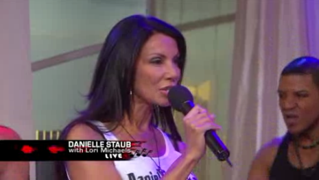 Real Housewife Danielle Staub's Latest Aural Abomination, with Backup Dancers