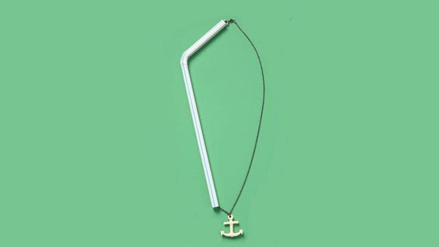 Use a Drinking Straw to Keep Jewelry or Headphones from Getting Tangled