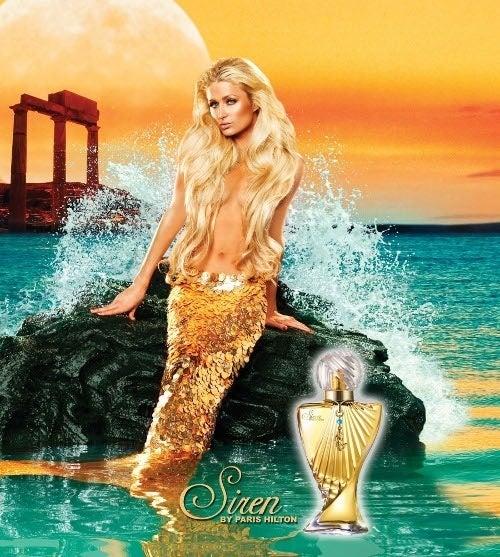Paris Hilton Takes Us Under The SexyFace Sea
