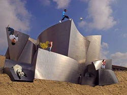 Frank Gehry Designs Playground