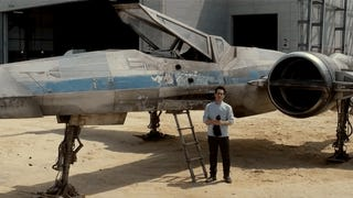 ​A Teasing Look At <em>Star Wars: Episode VII</em>'s First Ship