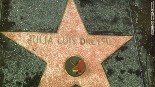 Hollywood Walk of Fame Gives Star to 'Julia Luis Dreyfus'
