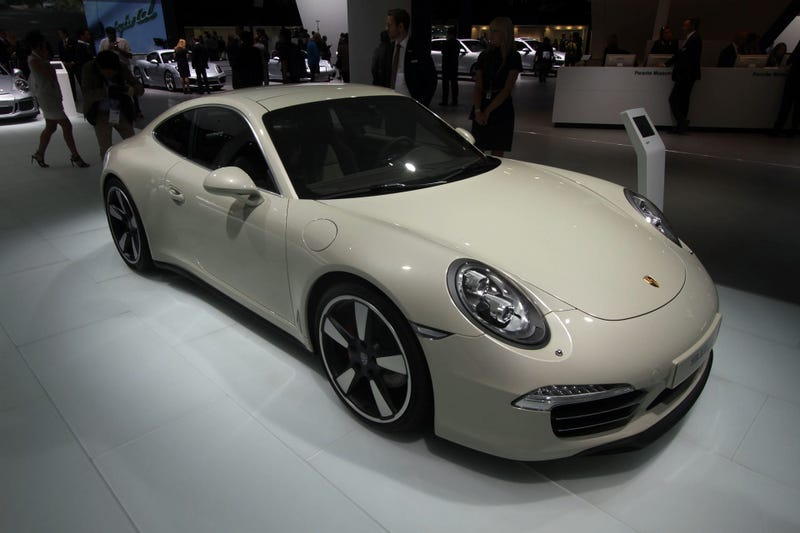 Buy A Porsche 911 50 Years Edition And Keep It For 50 Years