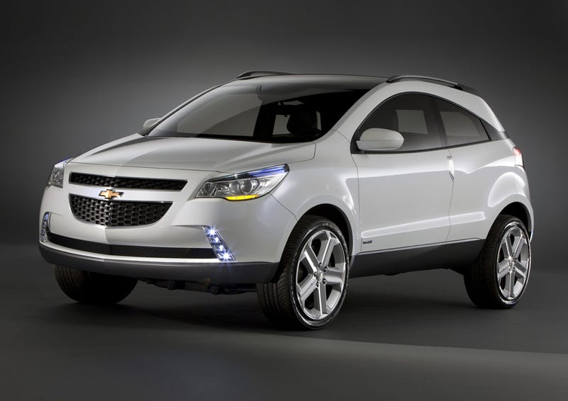 Chevrolet GPiX Concept Revealed In Brazil