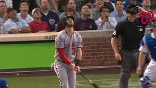 Bryce Harper Mad He Flied Out, Actually Hits Home Run