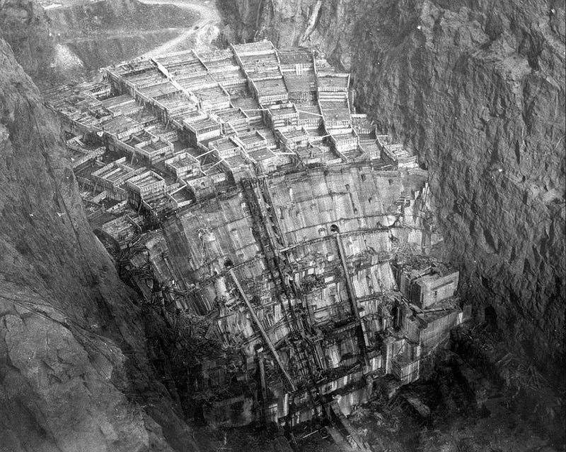 Who is buried in the Hoover Dam?