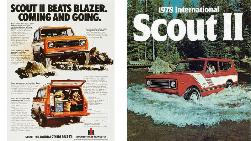 Which International Scout Should I Buy: Original 80/800 Or Scout II?