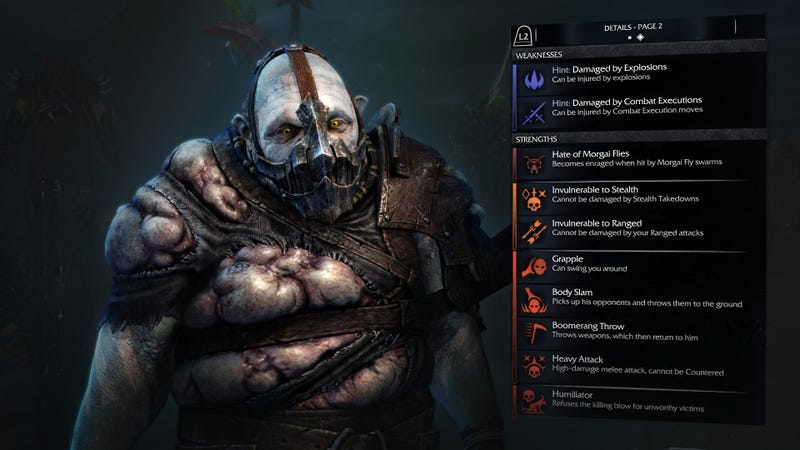Meet The Shadow of Mordor Enemy I Couldn't Kill