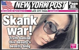 The New York Post Shamelessness Scale