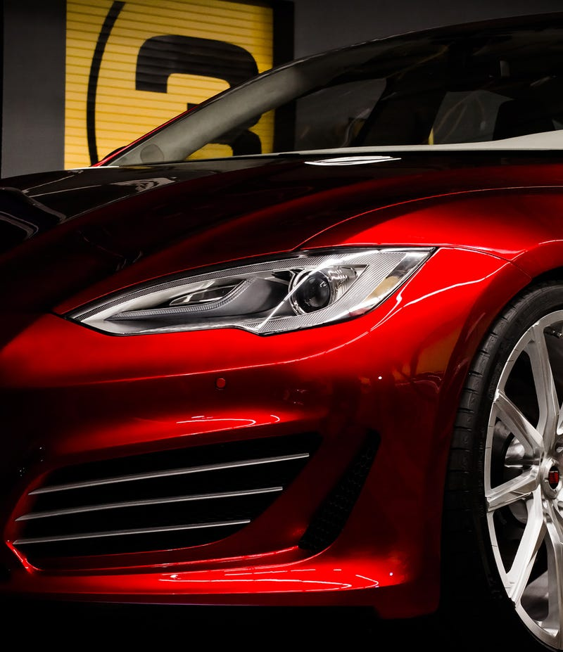 The Saleen FourSixteen Is The Electric M5 You've Been Waiting For