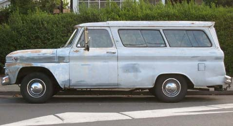 1963 GMC Suburban Carryall