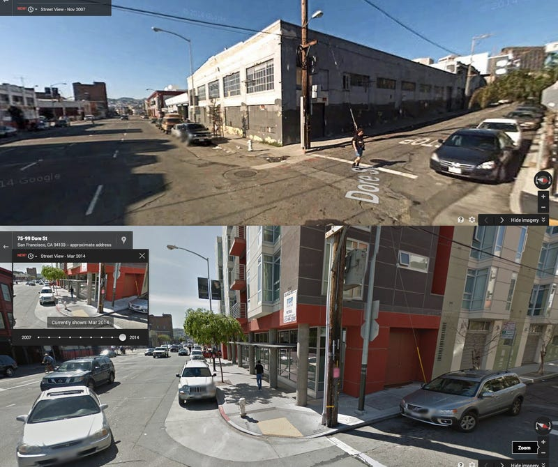 Watch San Francisco's Rapid Gentrification Unfold on Google Street View