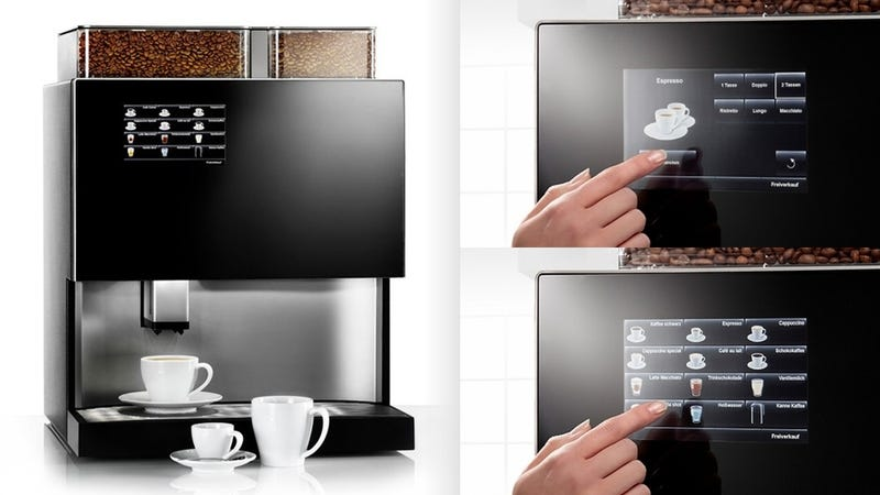Maybe We Don't Need Pretty Touchscreens In Our Coffee Machines
