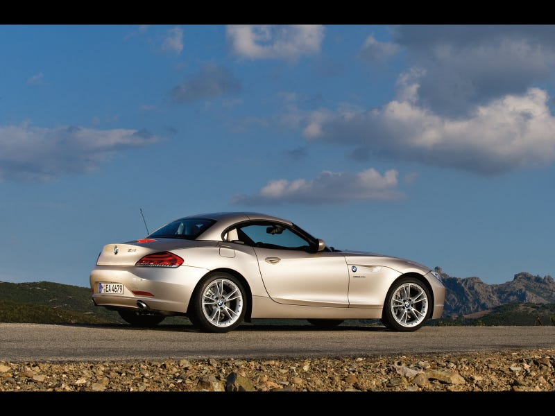 2009 BMW Z4: Hairdressers Rejoice!