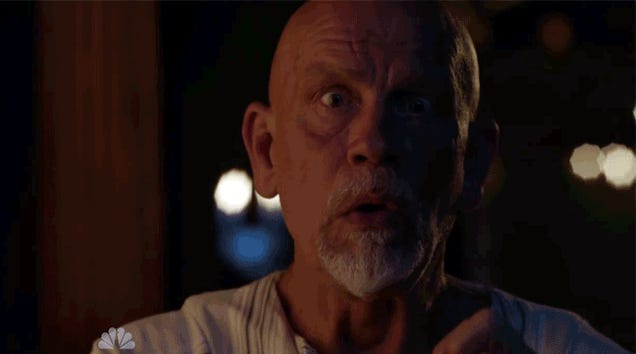 John Malkovich Pokes a Bunch of Pins in His Head for Crossbones