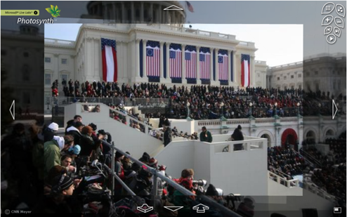Relive the Inauguration in 3D Photo Style