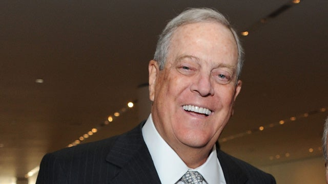 David Koch Doesn't Give 'Hardcore Socialist' Obama Credit for Killing Anything