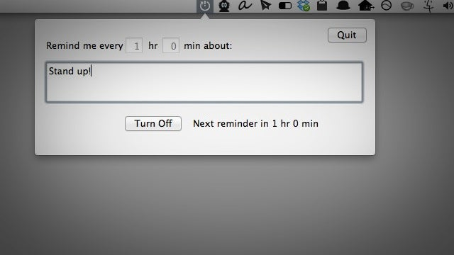 RemindMeAgain Is a Simple Reminder App that Lives In Your Menubar