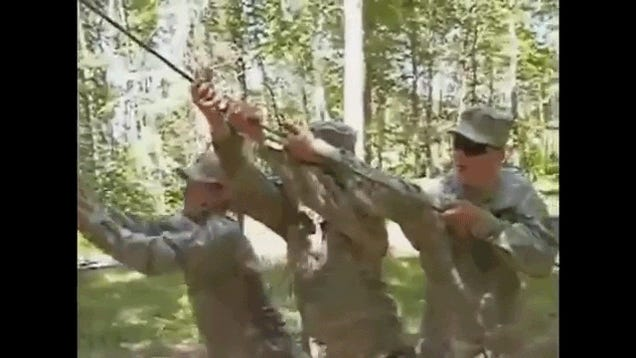 This video compilation of hilarious military fails is comedic gold