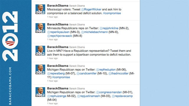 'Barack Obama' Is Tweeting Like a Monster