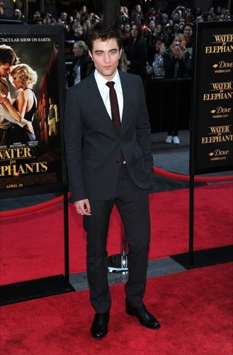 Robert Pattinson Grows Up On The Red Carpet
