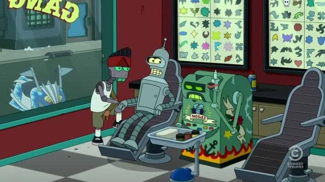 Futurama finally shows us Bender's one actual ideal