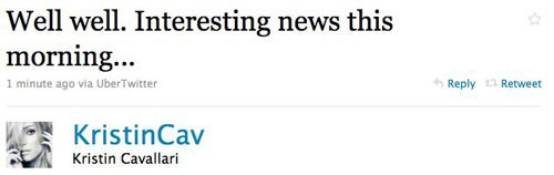 Terry Richardson Tweets Tits