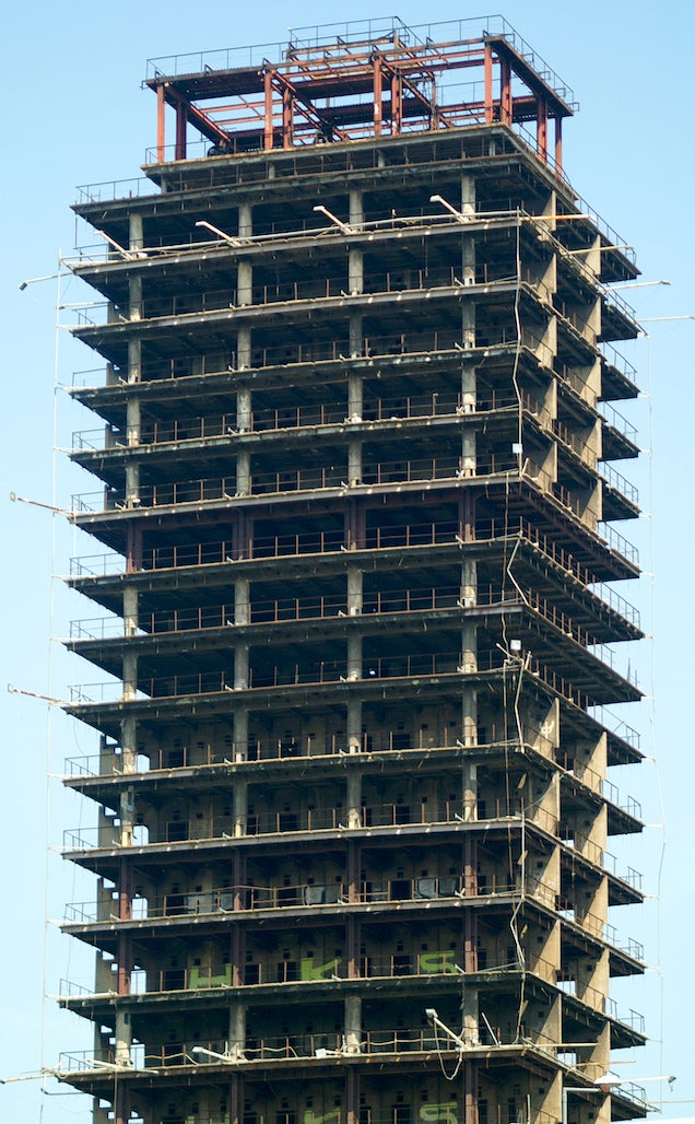 The Stark Beauty Of The World's Tallest Unoccupied Buildings