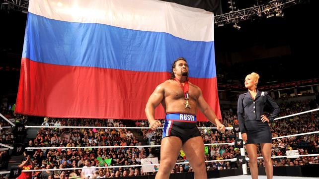 "WWE's ""Russian"" Characters Referenced The Malaysian Airlines Crash"