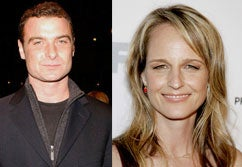 Liev Schreiber and Helen Hunt Pronounced Unhappy Man and Wife