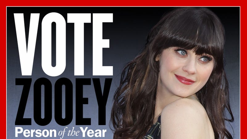 Defeat Reddit: Vote Zooey Deschanel For TIME's Most Influential Person of the Year