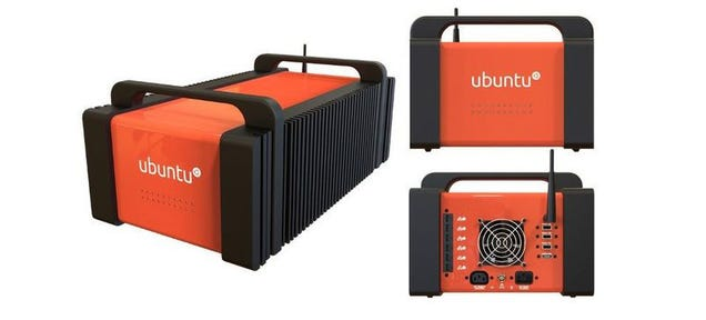Ubuntu Just Put the Cloud in This Small, Orange Box