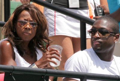 Is Star Jones In Dwyane Wade's Five?