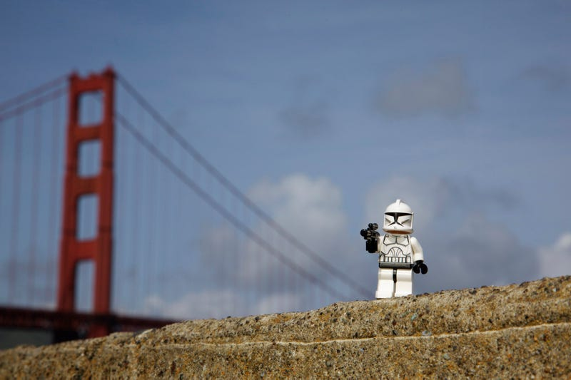 The LEGO Star Wars III: Clone Wars Spill Over Into San Francisco