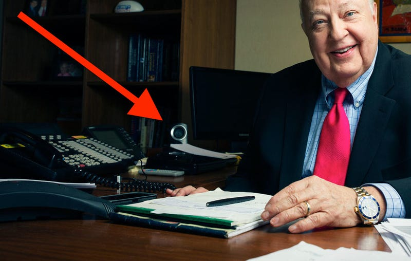Smile! Roger Ailes Is Watching You Right Now