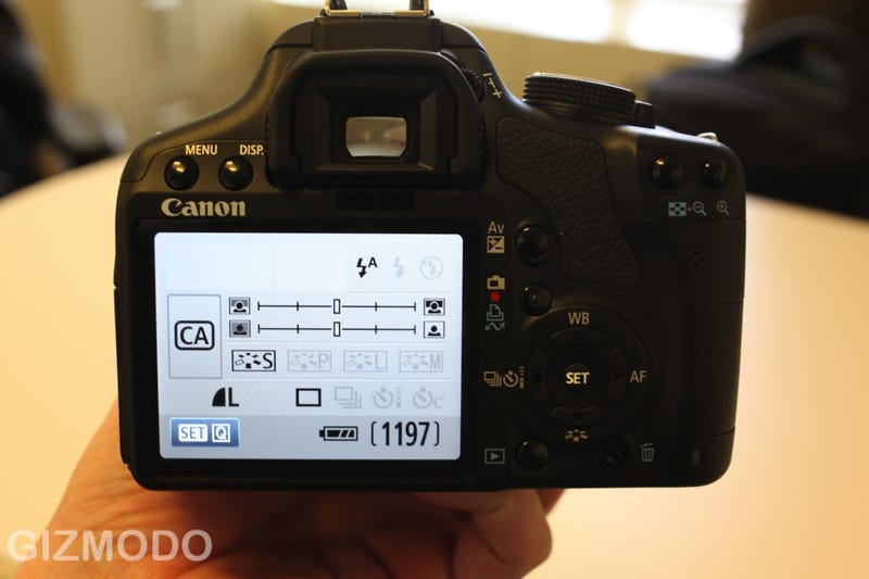 Canon EOS Rebel T1i First Hands On: 50D's Sensor, 1080p Vids, $899 (!!)