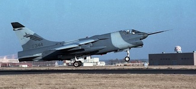 "Can We Learn Something From The Defunct A-7F ""Strikefighter?"""