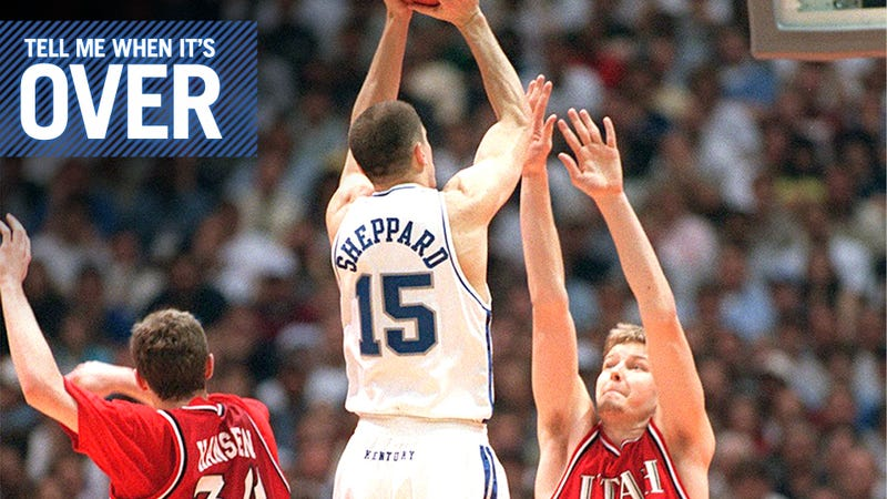 How A Career Ends: Jeff Sheppard, Kentucky's Great Dunking Guard, Quit Because Of 9/11