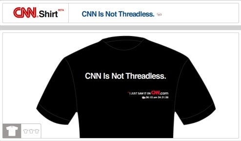 Make Your Own CNN T-Shirts!
