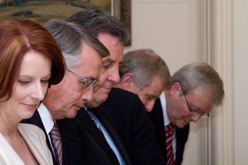 Julia Gillard's Gentlemen-In-Waiting