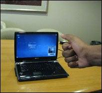 Toshiba G55 Qosmio Has Gesture Control