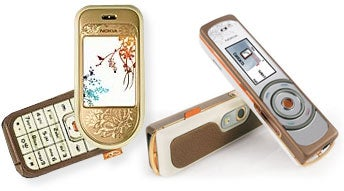 Nokia 7370 and 7380 Fancy Phones: Spread L'Amour