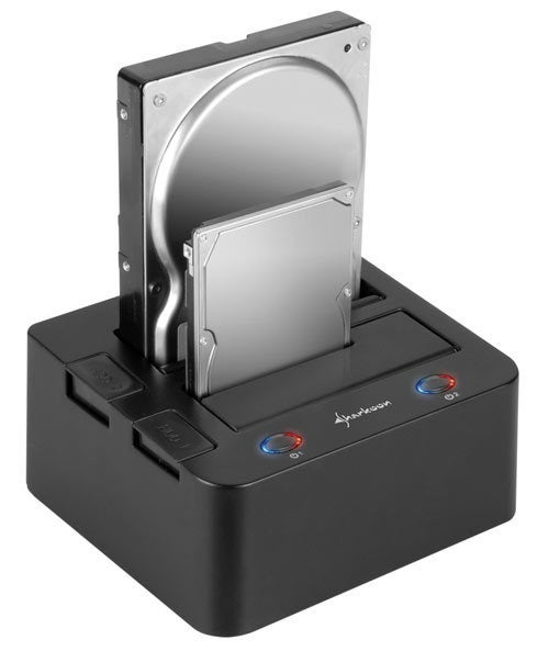 The Infamous Hard Drive Dock, Now Imbued With USB 3.0