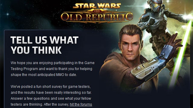 BioWare's Cruel, Accidental Tease For Star Wars Fans [Update]