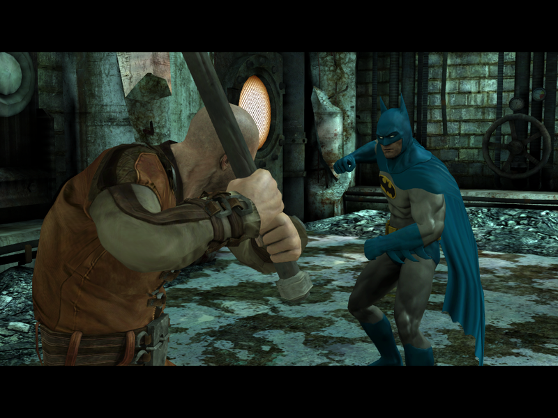 Batman Gets Retro and New-School Looks in Arkham City Lockdown iOS Update