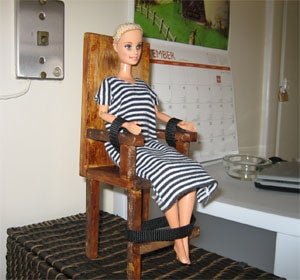"Our ""Barbie Electric Chair"" Is A Bust; We Interview The Inventor"