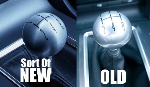 That New Mustang Shift Knob Sure Looks Familiar...