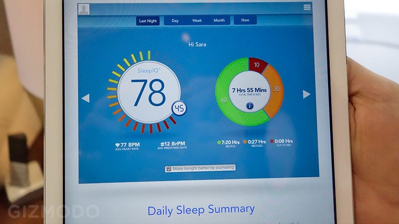 Sleep Number's IQ Bed Can Silence a Snoring Bedmate